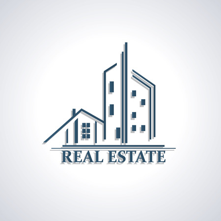 Modern icon  for Real estate business  Vector