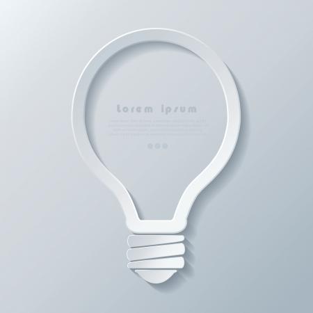 ビジネス、web デザイン、グラフィック、計画、コンセプト考え、ダイアグラム、オプション、教育に現代的なアイデア電球アイコン バナー テンプ  イラスト・ベクター素材