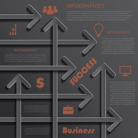 Modern template infographics design for business  can be used for your presentation, web design, graphic or website layout, diagram, workflow layout, business step options, numbers options, education