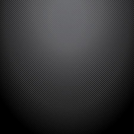 Realistic dark carbon background, texture  Vector illustration