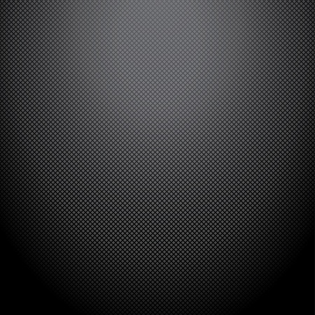 fibra de carbono: Fondo realista del carbón oscuro, textura Ilustración vectorial