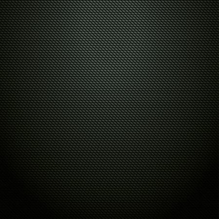 metalic design: Realistic dark green carbon background, texture  Vector illustration