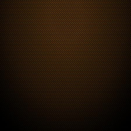 現実的な暗い茶色の炭素背景テクスチャ ベクトル イラスト