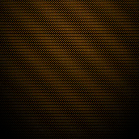 Realistic dark brown carbon background, texture  Vector illustration Vector