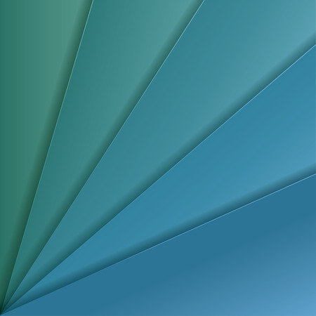 celadon: Abstract vector background with turquoise and celadon paper layers
