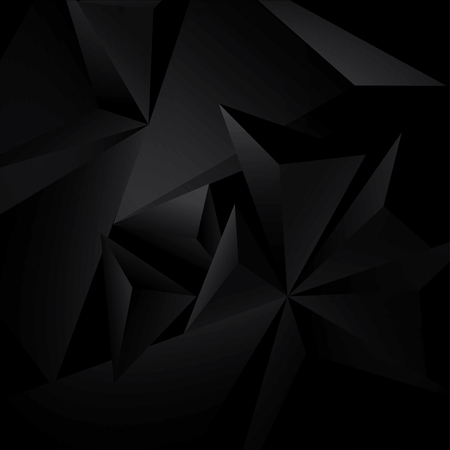 abstract black: Abstract black background with geometric figures