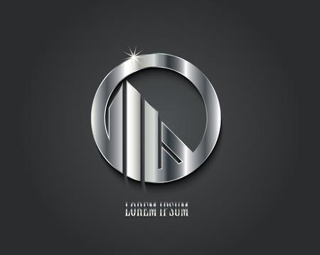 Creatief vector logo ontwerp Stock Illustratie