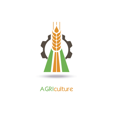 germinate: Agriculture icon Template Design.