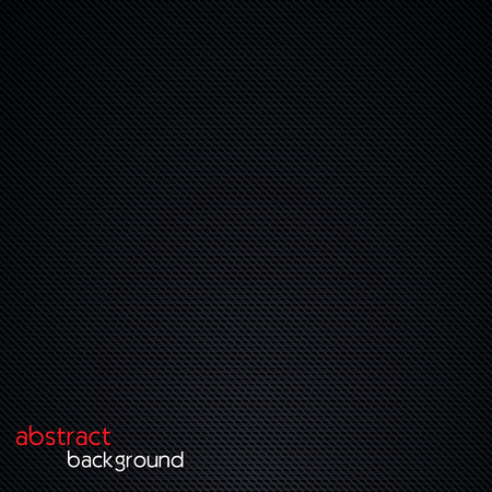 metalic design: Abstractdark background. Realistic carbon texture. Vector illustration