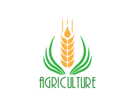 agriculture icon: Agriculture icon Template Design. Sign or Symbol.