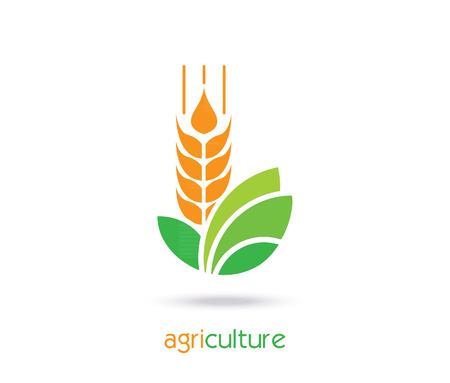 農業アイコン テンプレート デザイン