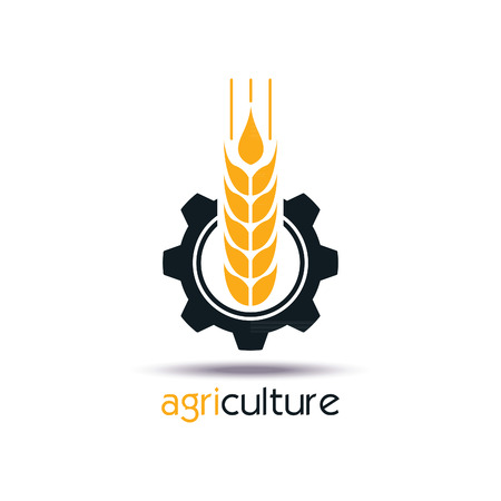 Agriculture icon Template Design. Sign or Symbol. Vector flat design