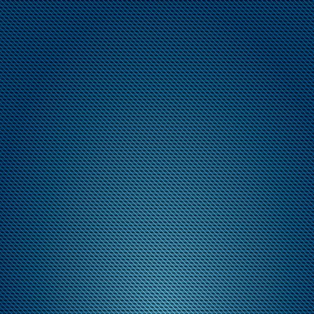Blue color Geometric grid background Modern abstract Realistic color carbon texture. 일러스트