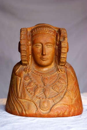 Replica Lady of Elche, front view