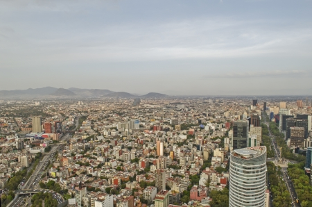 mexico city: Mexico City Skyline