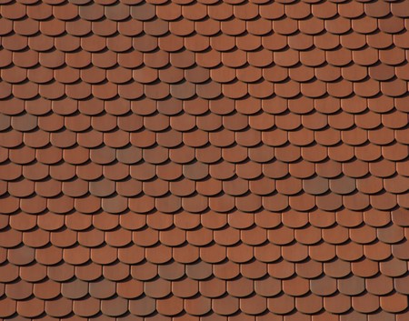 Texture: roof tiles pattern photo