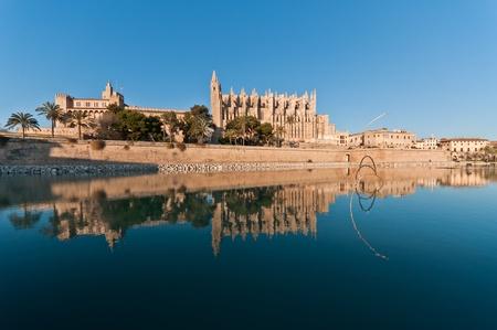 palma: Cathedral of Palma, Spain Stock Photo