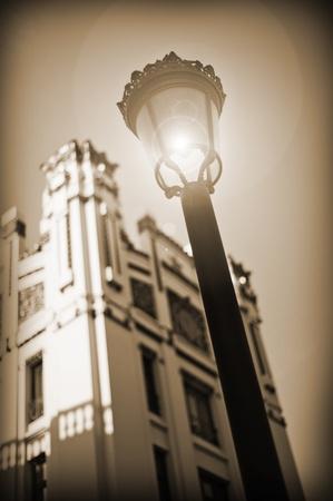 Edificio de la Estación del Norte Foto de archivo