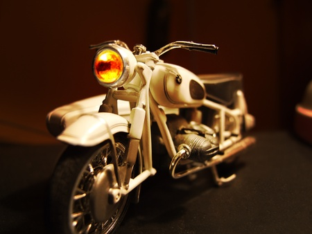 Segunda Guerra Mundial, la motocicleta en miniatura