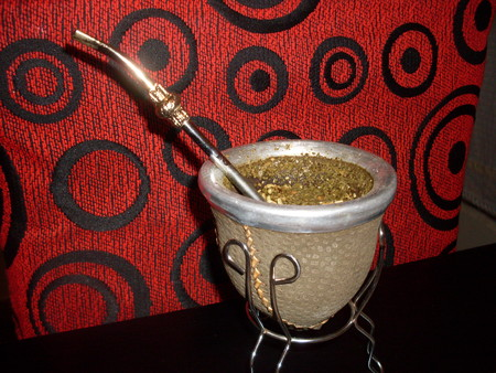 azucar: mate por la tarde Stock Photo