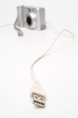 Podłączenie przez USB Zdjęcie Seryjne