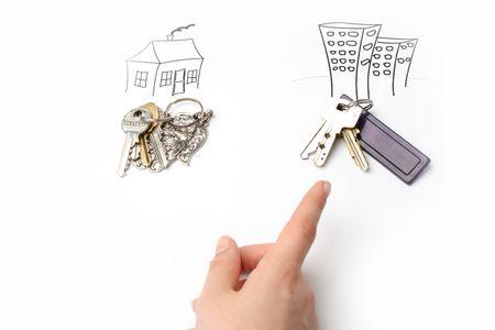 commision: Choosing between house or flat