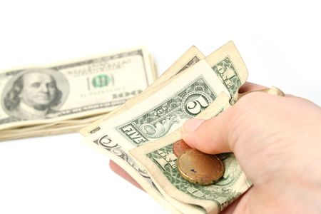 commision: Credit charge Stock Photo