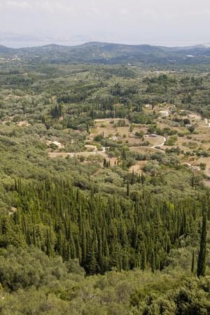 holiday destination: Corfu Island - Summer Holiday Destination Stock Photo