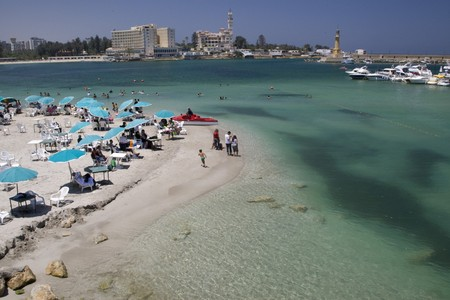 ALEXANDRIA, EGYPT - MAY 30: We take a closer look at Alexandria's city life on MAY 30, 2008, as it's the second-largest city in Egypt, the country's largest seaport and an important tourist resort. Editorial