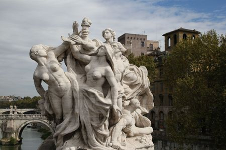 Rome, Italy - Famous travel destination Stock Photo - 7839406