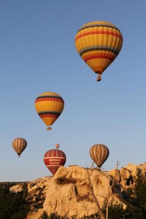 flight mode: Hot Air Balloon in Cappadocia, Turkey