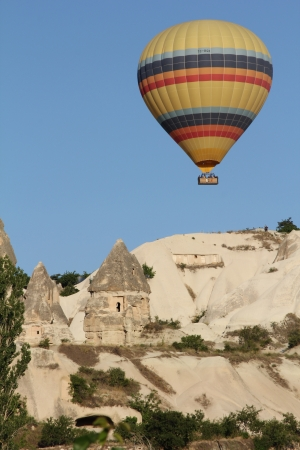 Hot Air Balloon in Cappadocia, Turkey