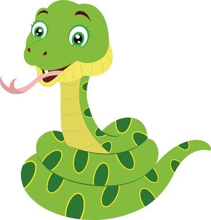 Clipart Vector Snake Ilustración de vector