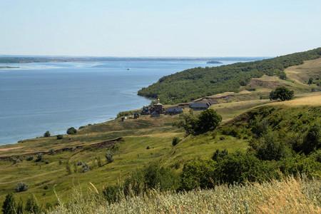 volga: Volga coast Stock Photo