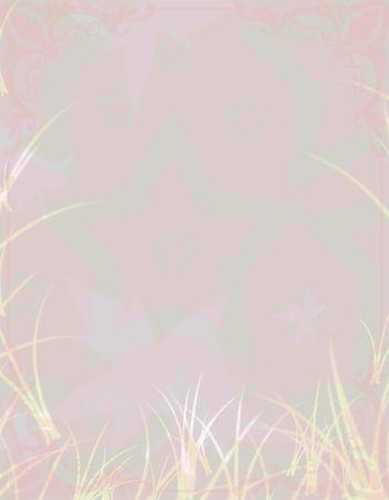 illustration of abstract floral background pink grey illustration