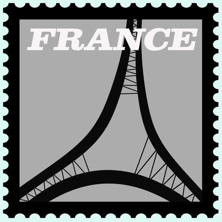 предмет коллекционирования: illustration of france postage  stamp