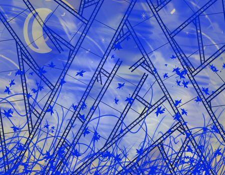 illustration of abstract background  Stock Illustration - 6924454