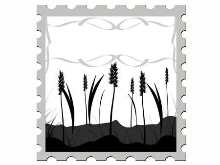 warmly: illustration stamp illustration  Illustration