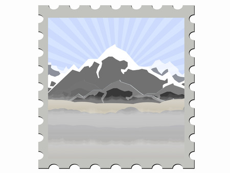 illustration stamp illustration  Vector