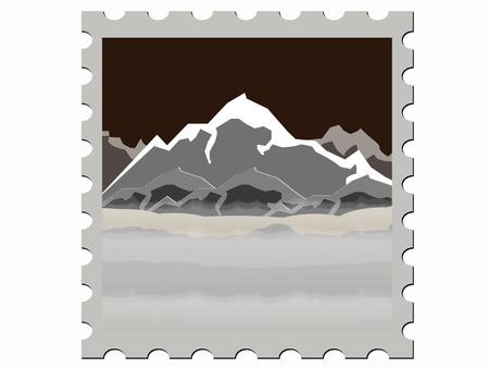 illustration stamp illustration  Stock Illustratie