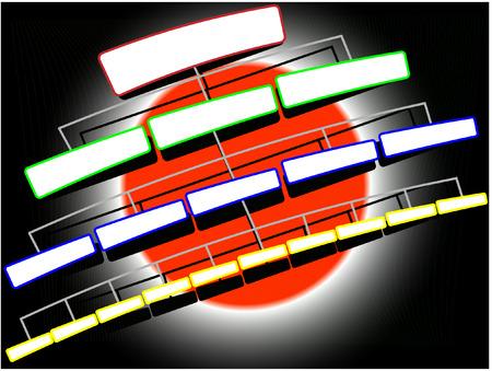 organization structure:  illustration organization structure