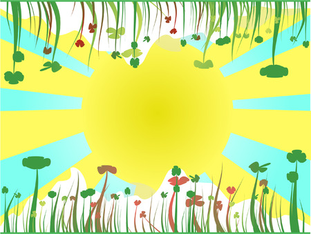 natural background flowers Stock Vector - 7879261