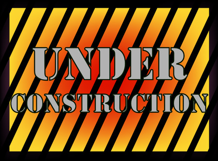 background under construction Stock Vector - 8069313