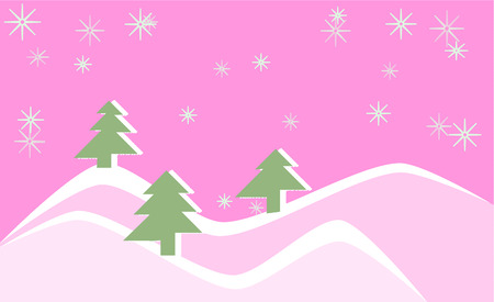 winter forest Stock Vector - 8253630