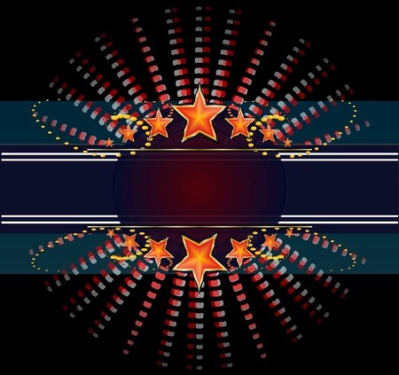scheibe: Abstrakt Disco Hintergrund Illustration