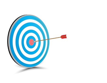 intention: Target with arrow