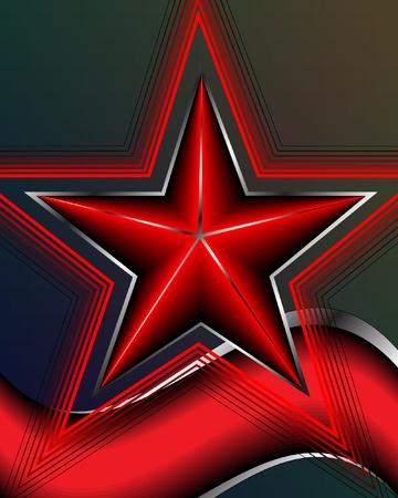 star vector illustration  Stock Vector - 9303013