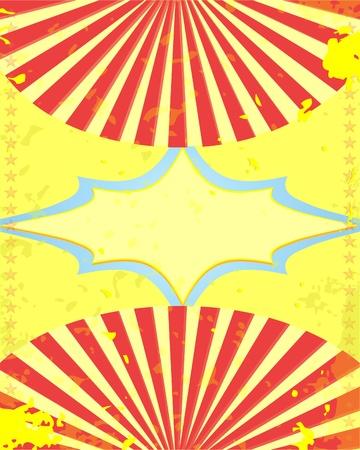 soiree: retro poster  Illustration