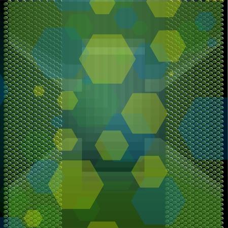 Nice green background  Vector
