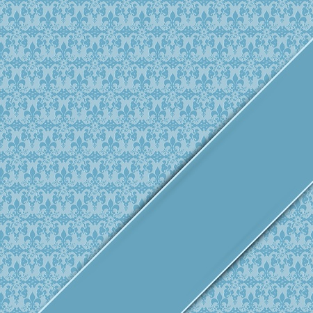 floral background seamless with space for text or massage  Vector